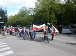 Misyjny Obóz Wędrowny w Augustowie. Marsz dla Jezusa. (11.08.2012)