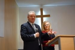 12.06.2016 r. (niedziela) Nabożeństwo z udziałem Jana i Zenobii Bloch z Parczewa